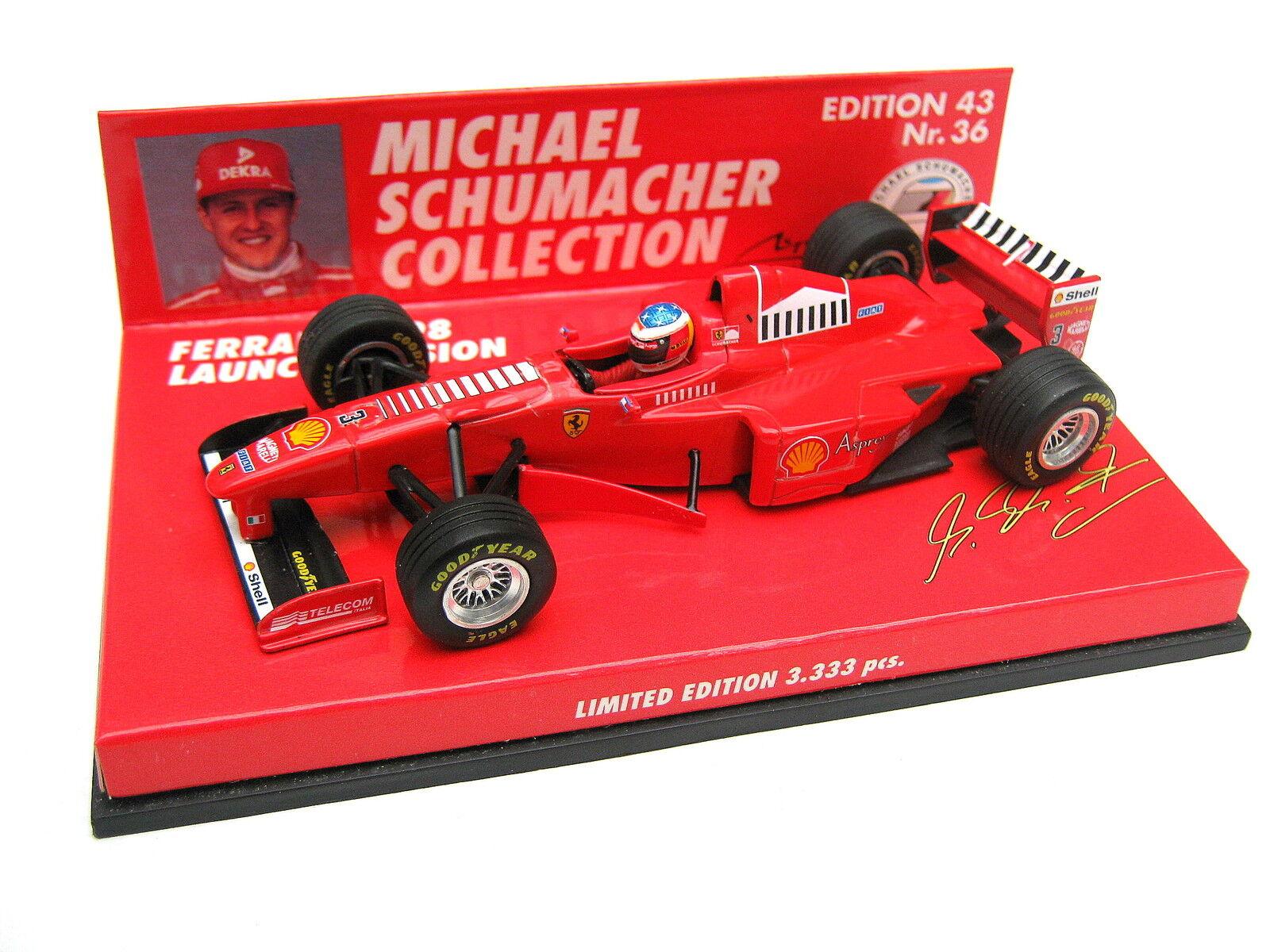 FERRARI f310b f300 Schumacher Launch Version 1998 ed 43 no 36 510984393 1/43 OVP