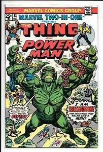 MARVEL TWO-IN-ONE No. 13 and 20. F Plus to VF , 1975-76, Thing Power Man