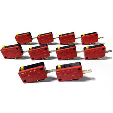 10PCS Arcade Replacement Parts Push Button Micro Switch For JAMMA MAME Games