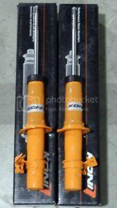 CLOSEOUT KONI STR.T ORANGE FRONT SHOCKS FOR 98-05 MAZDA MIATA MX-5 NB