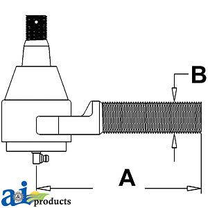 Details about John Deere Parts TIE ROD END RE12326 7800 (SN <-036466), on john deere 4100 wiring diagram, john deere 9600 wiring diagram, john deere 4640 wiring diagram, john deere 5525 wiring diagram, john deere 4850 wiring diagram, john deere 2130 wiring diagram, john deere 317 wiring diagram, john deere 4450 wiring diagram, john deere 5420 wiring diagram, john deere 4300 wiring diagram, john deere 6620 wiring diagram, john deere 6420 wiring diagram,
