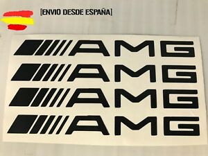 Mercedes-amg-kit-de-4-pegatinas-ideal-para-manetas-Tuning-sticker