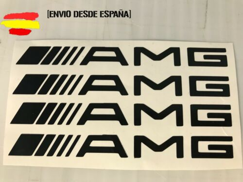 Mercedes amg kit de 4 pegatinas ideal para manetas Tuning sticker