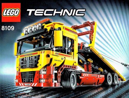 8109 Lego Technic 8109 Tieflader  Abschlepptruck mit Power Function und OVP