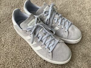 Details about adidas Campus Shoes Women's Light Blue Gray size 8 1/2