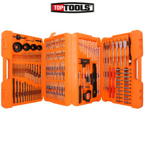 WellCut WC-SDB217 Complete Drill & Screwdriver Bit Set with 217 Pieces