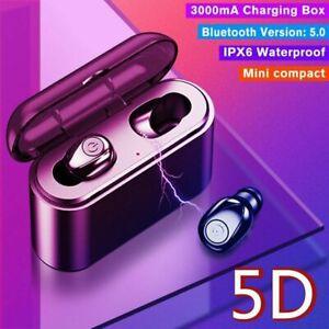 Bluetooth-5-0-Headset-TWS-Wireless-Earphones-Mini-Earbuds-Stereo-Headphones-IPX7