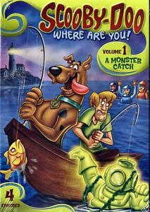 NEW DVD - SCOOBY DOO WHERE ARE YOU - VOLUME 1 - 88 min
