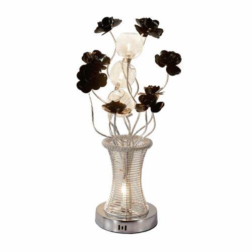 Moderne DEL Vase Aluminium filaire Grande table de bureau Lampadaire