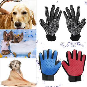 Pet-Dog-Grooming-Cleaning-Glove-Deshedding-Hair-Removal-Massage-Brush