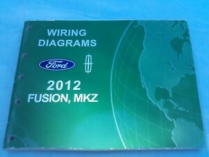 2012 FORD LINCOLN FUSION, MKZ WIRING DIAGRAMS | eBay