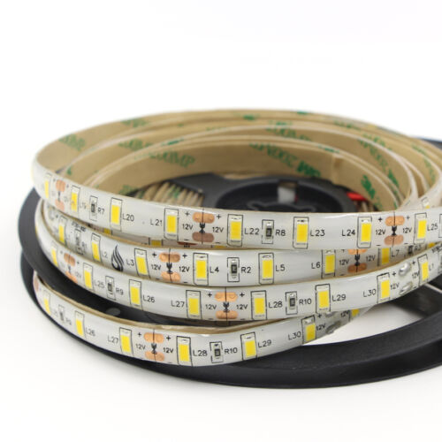 DC12V 16ft 1-5M 5630 waterproof 600 LED Light Strip Flexible Ribbon 3M Tape lamp