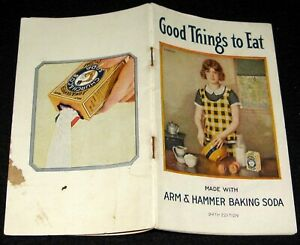 Details about ARM & HAMMER BAKING SODA 1925 BOOKLET GOOD THINGS TO EAT