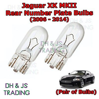 1x Jaguar XJR Bright Xenon White Superlux LED Number Plate Upgrade Light Bulb