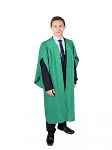 Emerald Green Choir Robe Simple Graduation Gown Ebay