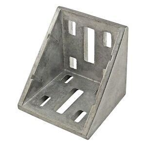 80//20 Inc T-Slot Aluminum 8 Hole Inside Corner Bracket 30 Series #14095 N