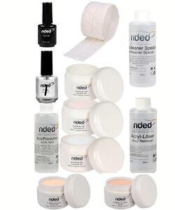 pack acryl der nded n gel kunst fl ssigkeit acryl pulver acryl ersten ebay. Black Bedroom Furniture Sets. Home Design Ideas