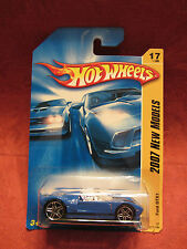 Hot Wheels  2007 New Models  Ford GTX1  Blue NOC 1:64 scale W-04