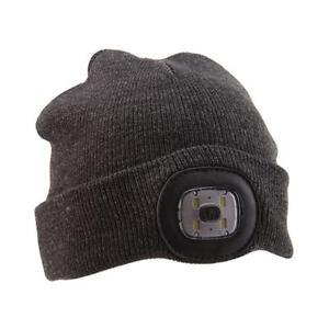 Gadgetree LED Headlight Hat - Dark Grey