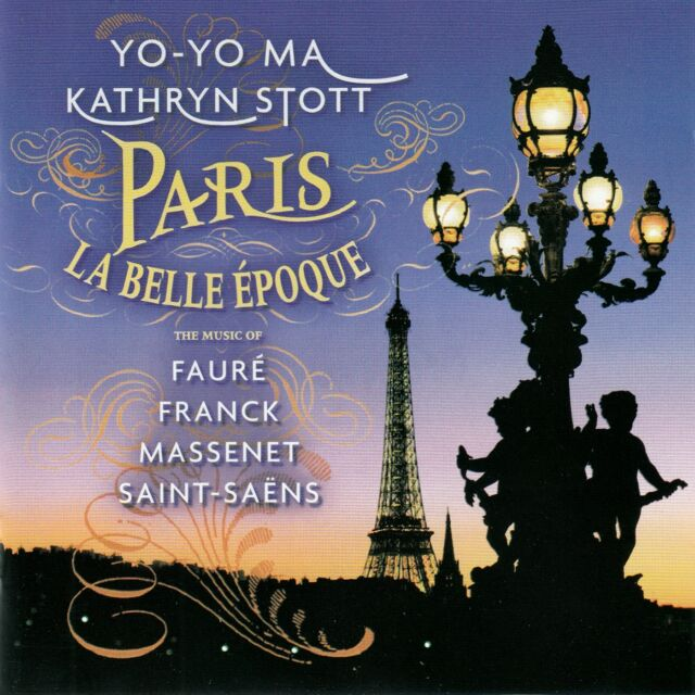 Yo-Yo Ma-Kathryn Stott: PARIS LA BELLE EPOQUE/CD-Top-État