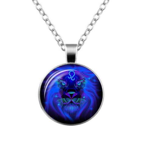 Sternzeichen Tierkreiszeichen Astrologisch Horoskop Elemente Vektoren Halskette