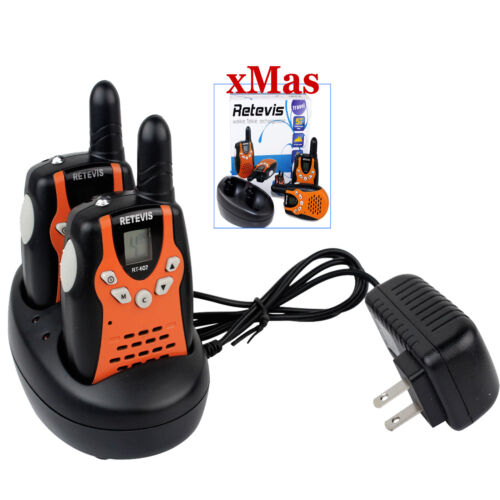 2X Retevis RT-602 22CH Kids Walkie Talkie UHF 0.5W Flashlight VOX 2-Way Radio-US