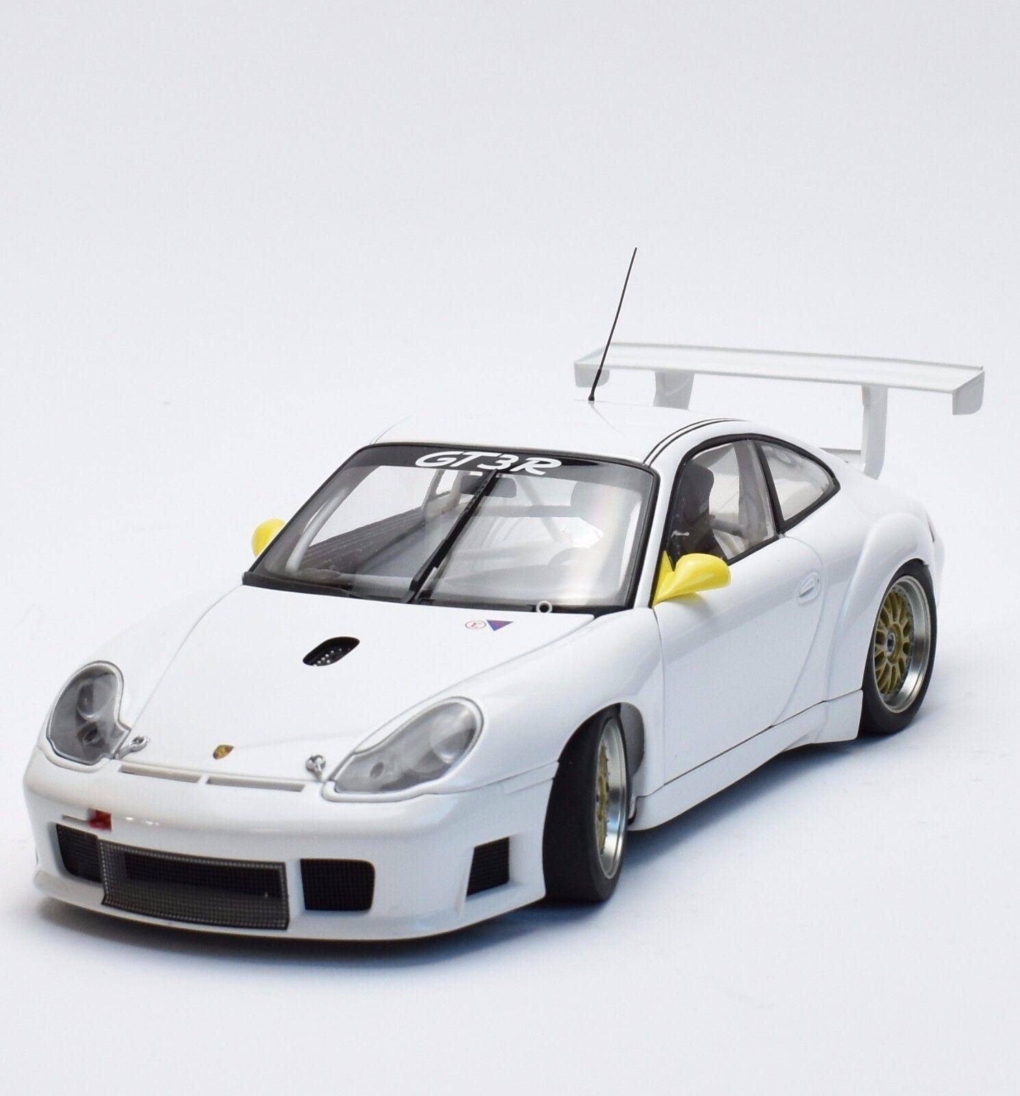 Porsche 911   996 gt3 rsr autoart rennwagen schlicht körper in weiss, 18, x014