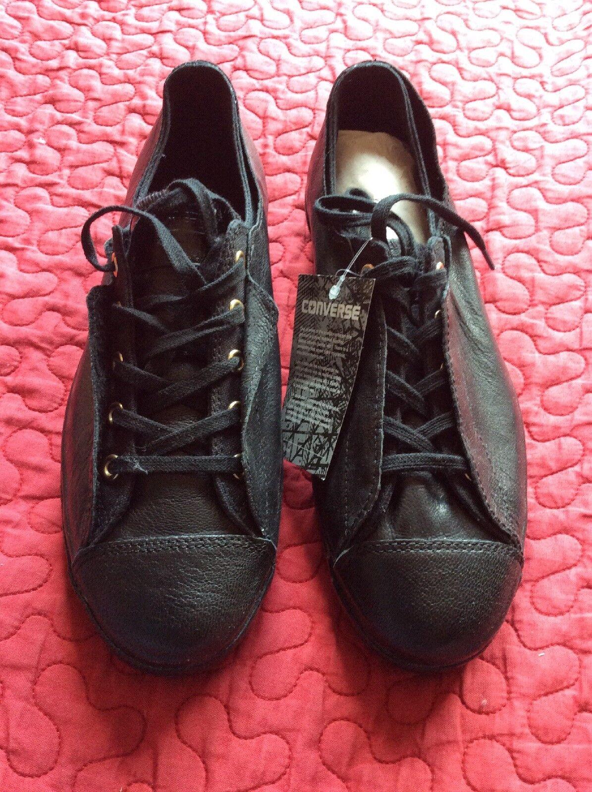 CONVERSE Sneakers Gr. Ctas High Line Shroud Ox LEDER Gr. Sneakers 40 schwarz NEU 854f4f