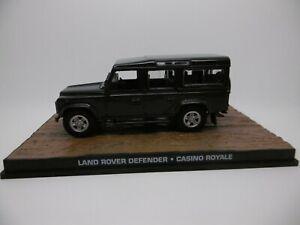 Fabbri-1-43-escala-Diecast-modelo-Land-Rover-Defender-Casino-Royale-Ref-Gj