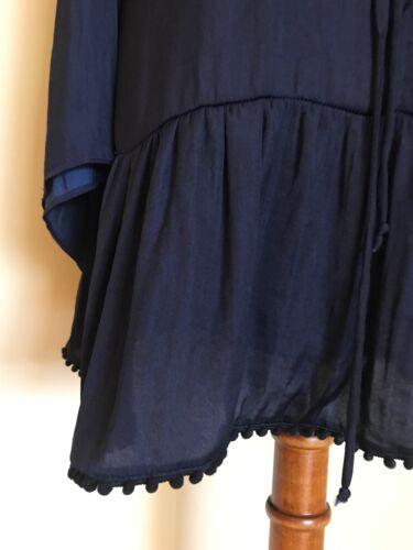 Tan lange BecBridge mini marinemaat mouwendiepe jurk met 2 435AqLRjSc