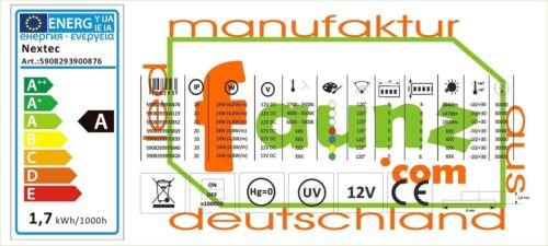 "LED Leuchtschild Werbeschild Reklame ""Döner"" Kiosk Imbiss orange 230-12V"