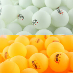 3-Star-40mm-30-100pcs-White-Orange-Plastic-Table-Tennis-Ping-Pong-Balls-Training
