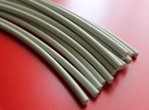 Kunststoffschweißdraht PP Grau 4mm Rund 5x1 Meter Kunststoff schweissen