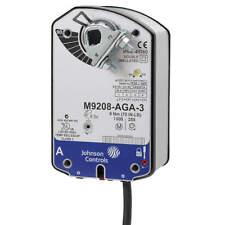 New Johnson Controls Electric Rotary Damper Actuator 24 Vacvdc M9208 Gga 3