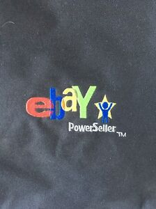 Power Seller Logo Tote Bag Embroidered Black Red Green Blueyellow Ebay Live 2008 Ebay