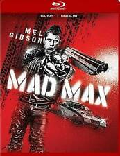 MAD MAX/Mel Gibson/BLU-RAY + DIGITAL HD/BUY ANY 4 ITEMS SHIP FREE