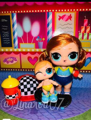 LOL Surprise Hair Goals Doll Sk8er Grrrl Redhead Skater Girl Series 1 Toys gift
