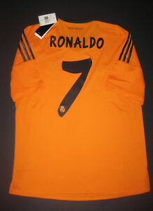 e4baedb4ca2 New 2013 2014 Adidas Authentic Real Madrid Cristiano Ronaldo Jersey ...