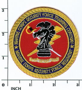 USMC Marine Corps Security Force Training Company PATCH Marines SF ...