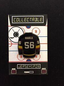 promo code 519a9 9cdae Vegas Golden Knights Erick Haula jersey lapel pin-Cool ...