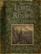 LORD OF THE RINGS SKETCH BOOK ~ PROFUSELY ILLUS ALAN LEE ~ TOLKIEN 1st PRINT HC