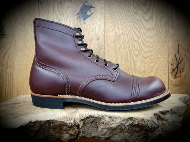 1c700601bc1 RED WING // Iron Ranger 8119 OXBLOOD // Mens leather Boots // FREE Mink Oil