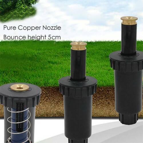 Adjustable Pop Up Sprayer Head Garden Sprinkler Watering Irrigation Lawn Tool