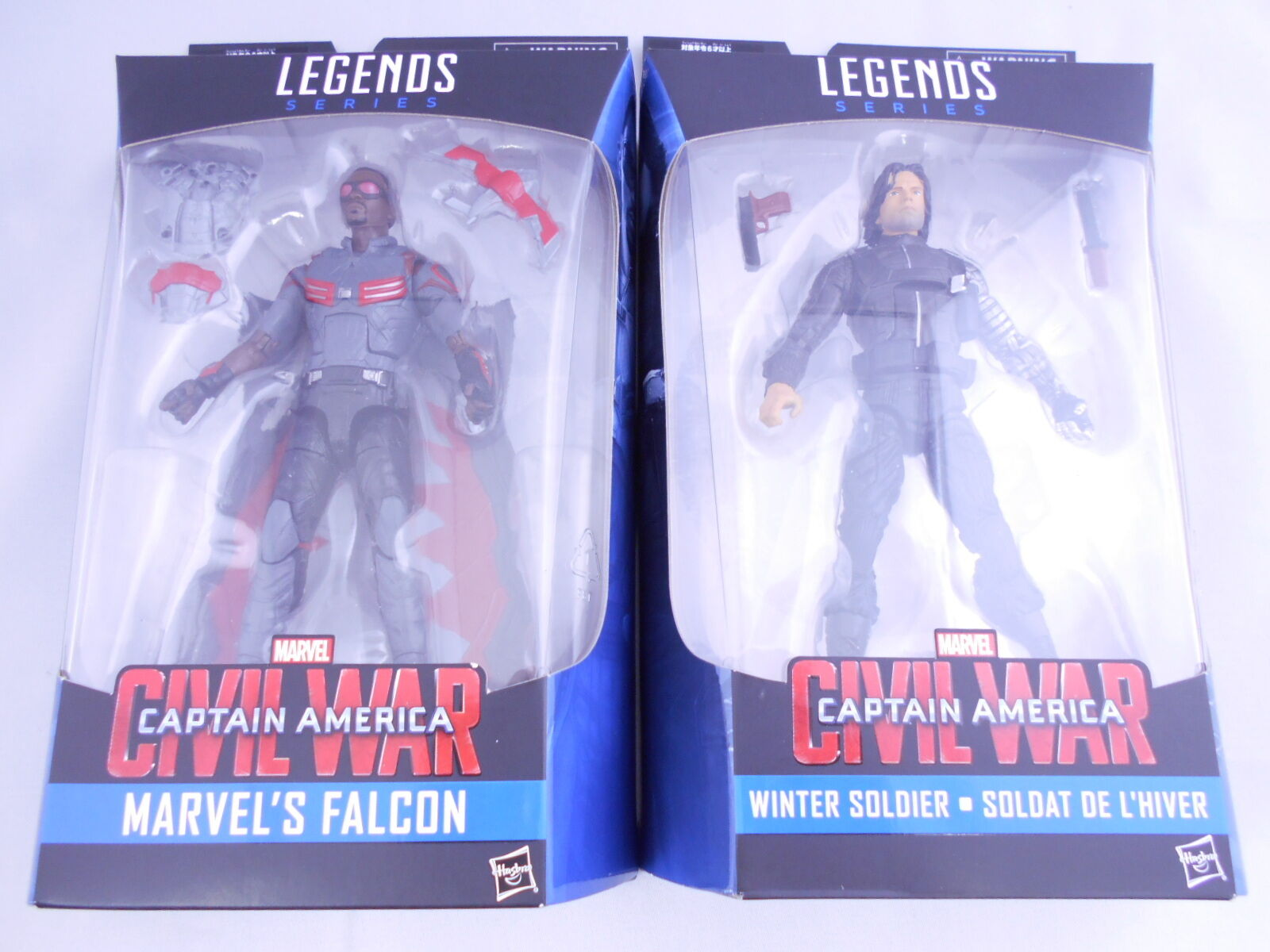 Marvel - legenden bürgerkrieg captain america 2,5 falcon winter soldat japan f   s