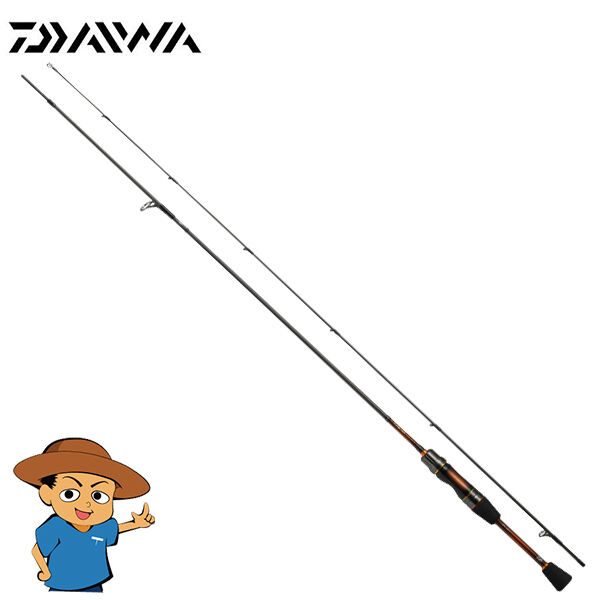 Daiwa PRESSO-LTD AGS 60XUL J Extra Ultra Light 6' trout fishing spinning rod