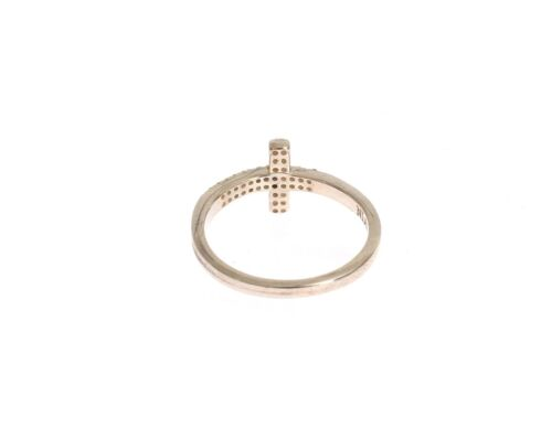 NWT $120 NIALAYA Ring Authentic Womens CZ Cross 925 Silver RING/_031 s US7 //EU54