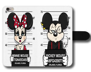 Image Is Loading Mickey And Minnie Mouse Mug Shot Funny Parody