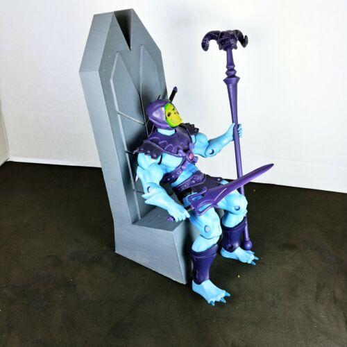MOTUC HEMAN Classics Super 7 4 H trône échelle 1//12 CUSTOM sorcière Grayskull
