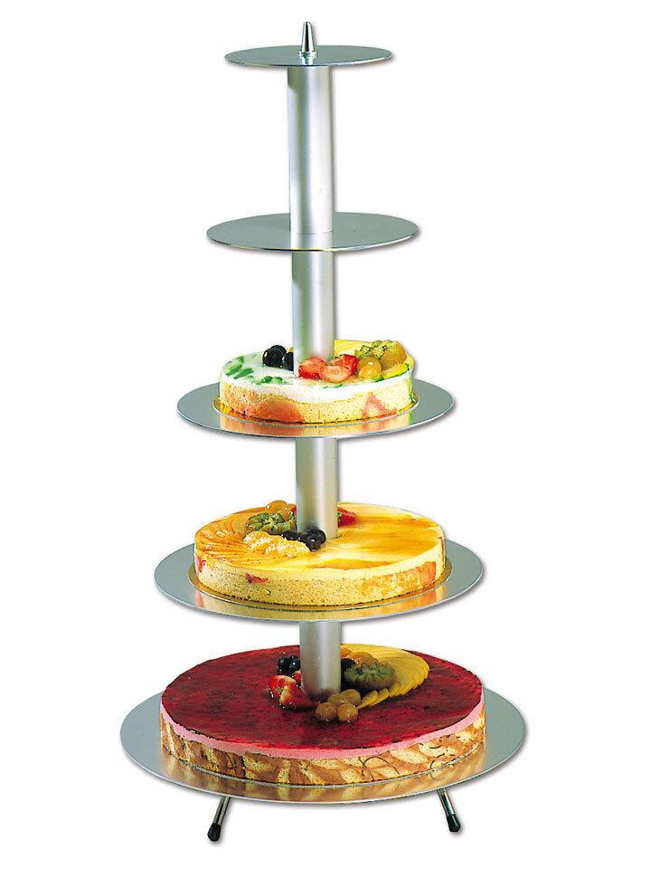 Gâteau De Mariage Support Rond 5 Niveaux Aluminium Matfer Matfer Matfer 71 cm | Avec Une Réputation De Longue Date  df26a9
