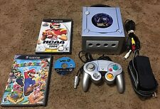GameCube Platinum Pokemon XD Console Bundle, Controller, Mario Party 7 & MORE!!